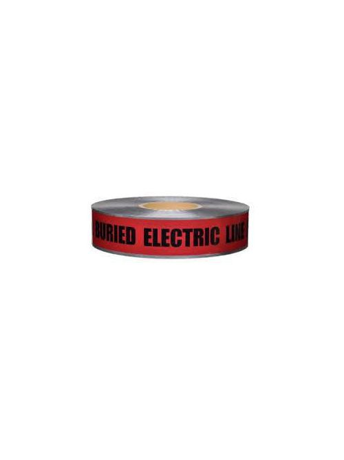 Fastening Specialists, Inc. 00991 1000 Foot x 2 Inch Red Underground Detectable Tape