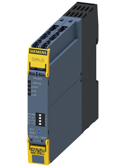 S-A 3SK12201AB40 SAFETY RELAY ADV I