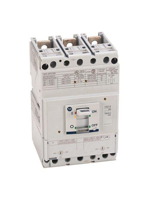 Allen Bradley 140G-J2F3-D12 250 Amp J-Frame Molded Case Circuit Breaker