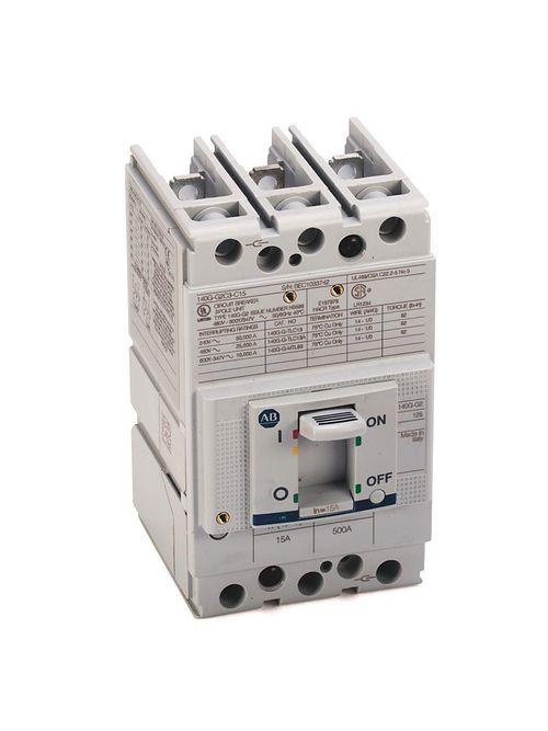 Allen-Bradley 140G-G2C3-C25 125 Amp Frame Molded Case Circuit Breaker