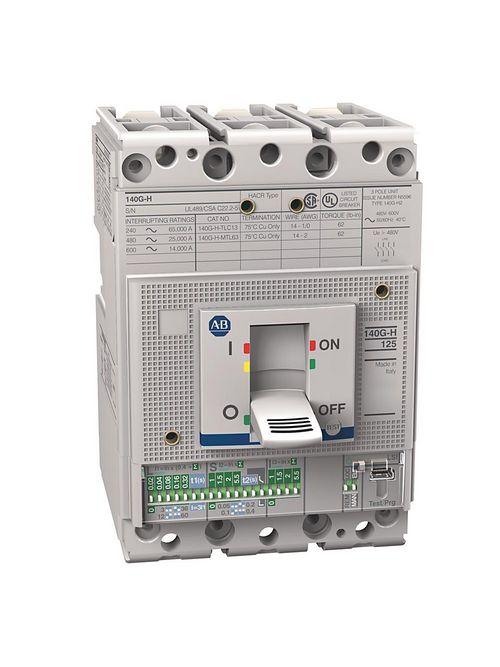 Allen-Bradley 140G-H3C3-C60 125 Amp H Frame Molded Case Circuit Breaker
