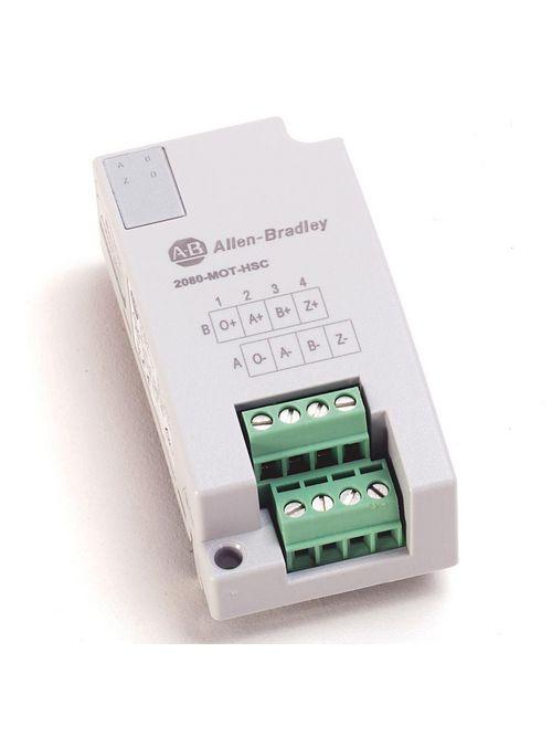 Allen Bradley 2080-MOT-HSC 1-Output 5 Volt 250 kHz Digital High Speed Counter Plug-In Module