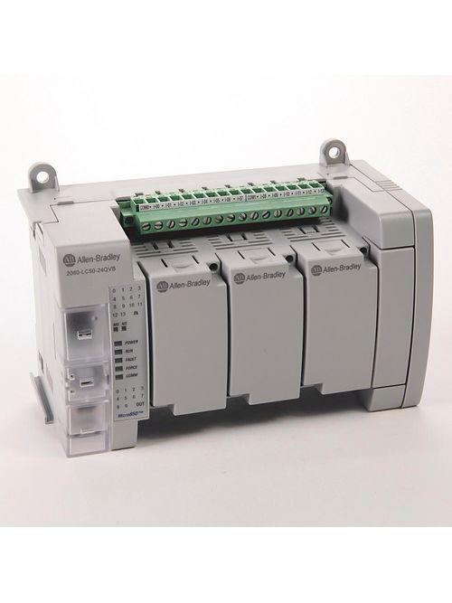 Allen Bradley 2080-LC50-24QVB Micro850 24 I/O Ethernet/IP Programmable Logic Controller