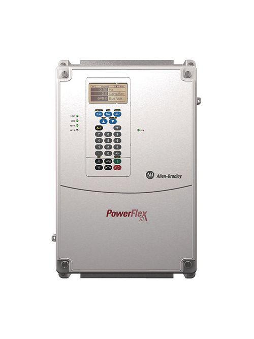 Allen Bradley 20AD052C3AYNAEC0 PowerFlex 70 52 Amp at 40 Hp AC Drive