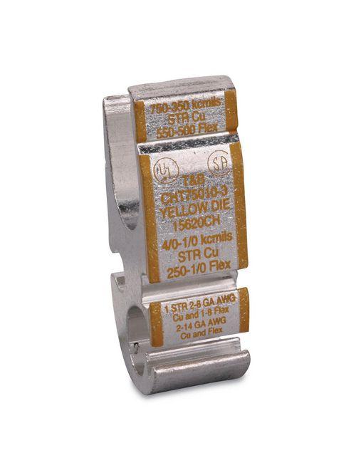 Color-Keyed CHT75010-3 Copper H-Tap