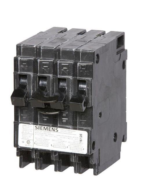 Siemens Industry Q3030NC 1-Pole 30 Amp 120 VAC 10 kA Non-Common Trip Duplex Circuit Breaker