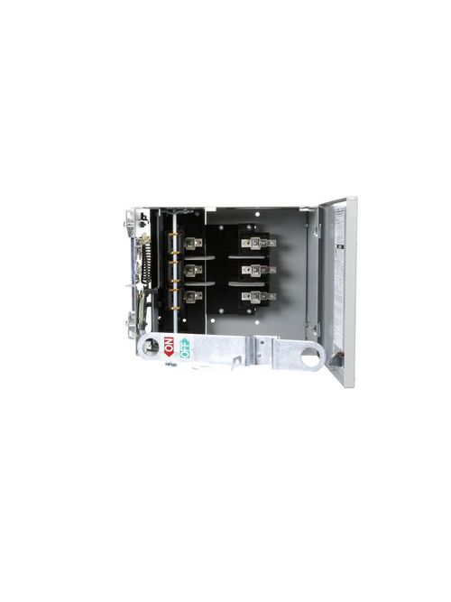 Siemens Industry UV363G 600 VAC 100 Amp 75 Hp 3-Pole 3-Wire Fusible Busway Power Distribution Plug-In Unit