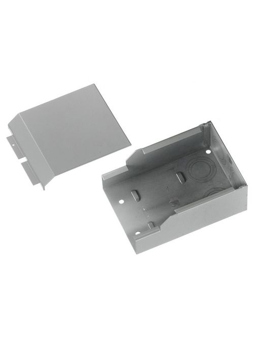 Hubbell Wiring Devices HBL4710GY HBL4750 Series Gray Raceway Entrance Fitting