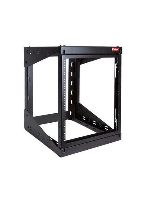 Hoffman E19SWM12U24 27.8 x 20.91 x 24.29 Inch 12-Unit Steel Swing-Out Wall Mount Cabinet Rack