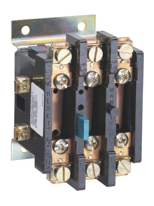 S-A 48DC38AA2 OVERLOAD RELAY,30A,3