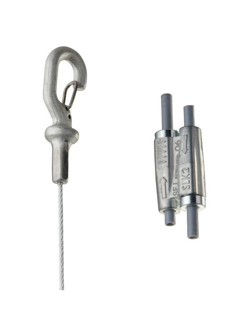 Caddy SLK15L2 20/Pack 1.5 mm x 6.6 Foot Electrogalvanized Steel Speed Link with Hook