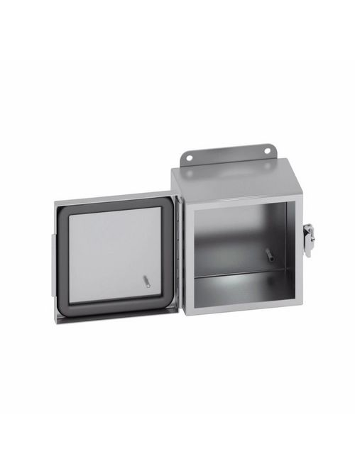 B-Line Series 664-4XSCHC Type 4X Stainless Steel JIC Continuous Hinge Cover Enclosure