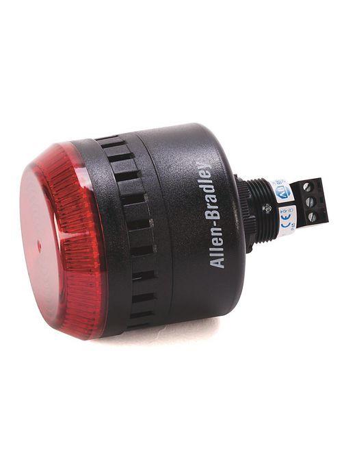 Allen-Bradley 855PC-B24ME822 Light and Sounder Combination Alarm Light