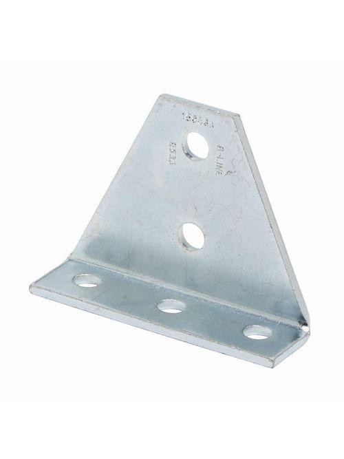 B-Line Series B533GRN 5-Hole Gussetted Shelf Angle