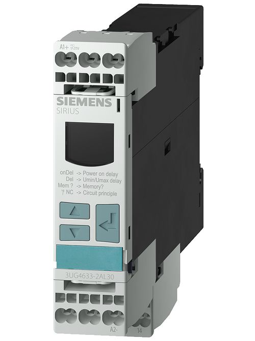 Siemens Industry 3UG4633-1AL30 17 to 275 VAC 17 to 275 VDC 1-Pole 1CO Voltage Monitoring Relay