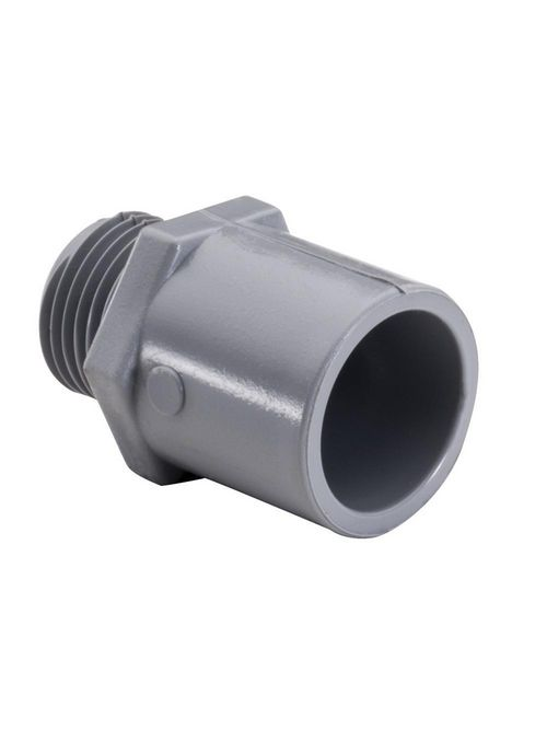 """TPZ 1036 2"""" PVC MALE ADPTR 40-PK"""