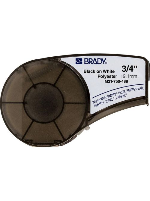 BRADY M21-750-488 Label,BMP21,B488,