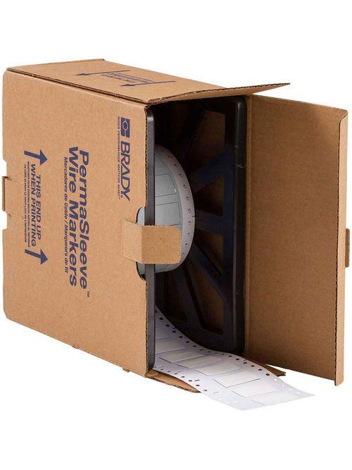 BRADY 2LSZH-500-2-WT Wire Mkr,THT,B