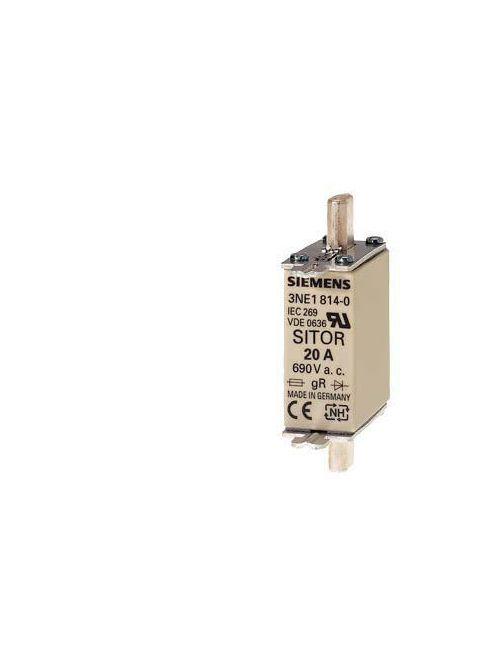 Siemens Industry 3NE1820-0 80 Amp 690 VAC Vertical Mount Low Voltage HRC Fuse Link