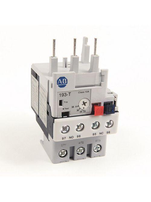 Allen Bradley 193-T1BC38 33 to 38 Amp IEC Bi-Metallic Overload Relay
