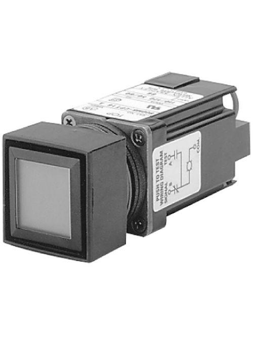 Allen-Bradley 800MB-CPL16R Red Lens 22.5 mm Square Push Button