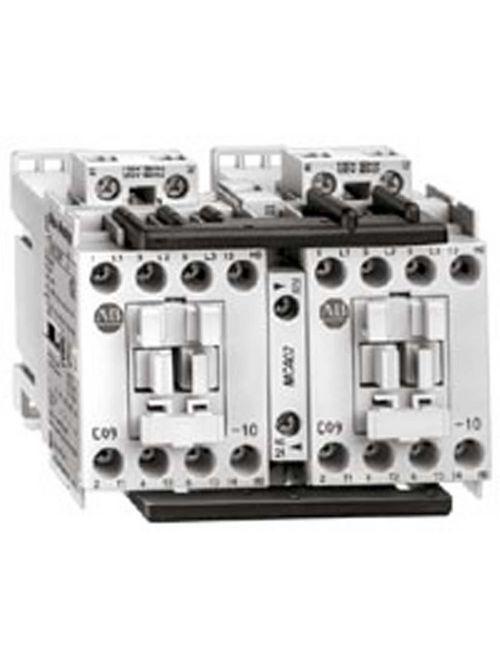 Allen-Bradley 104-C09D22 9 Amp IEC Reversing Contactor