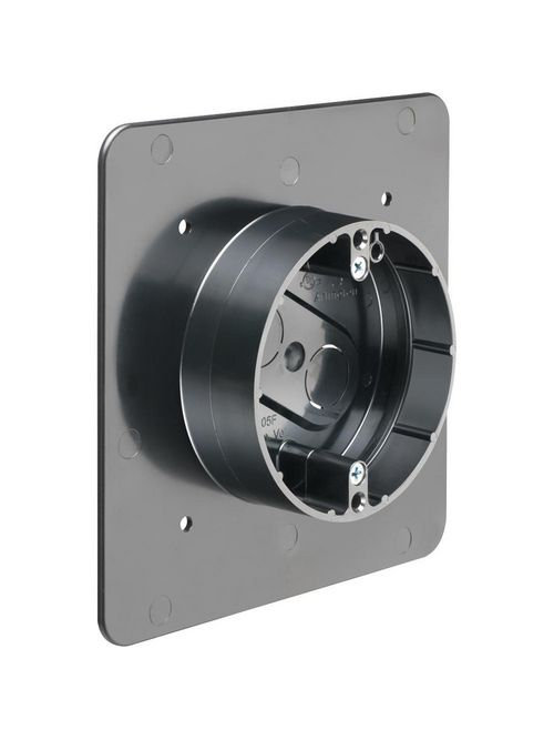 Arlington FR405F Non-Metallic Flange Box for 1/2 or 1-1/4 Inch Flat or Stucco Surfaces