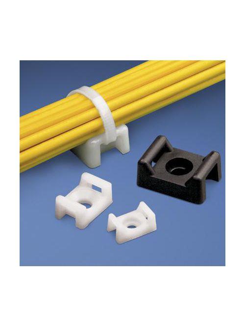 Panduit TM3S25-C .62 Inch 15.8 mm 1/4 Screw Cable Tie Mount