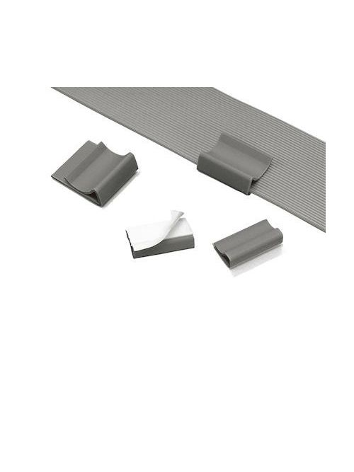 Panduit FCC-A-D8 Any Width Adhesive Flat Cable Clip