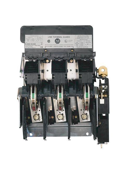 Allen Bradley 1494V-DJ606 600 Volt 600 Amp Variable Depth Fused Disconnect Switch