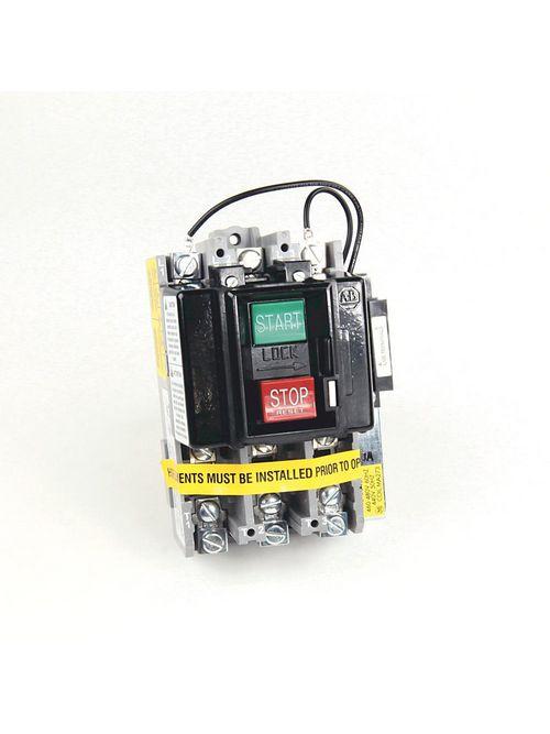 Allen Bradley 609U-BOXD Max 600 Volt Manual Starter Switch