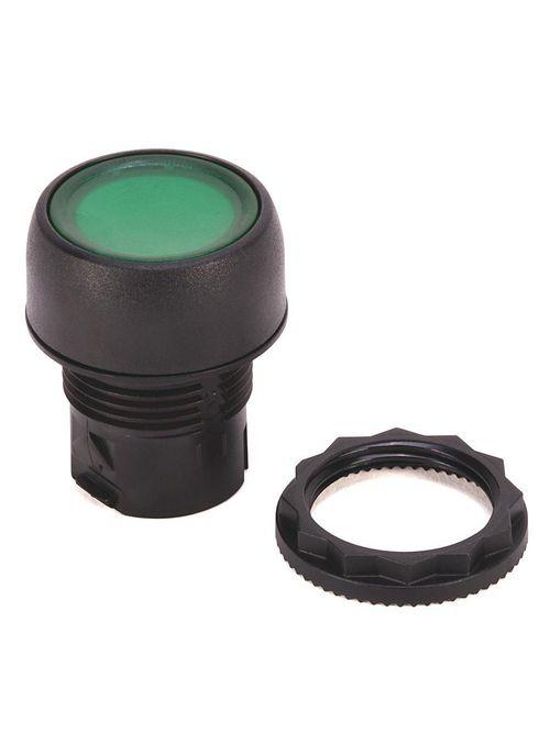 Allen-Bradley 800FP-LFA5 Plastic Illuminated Flush Alternate Action Yellow Momentary Push Button