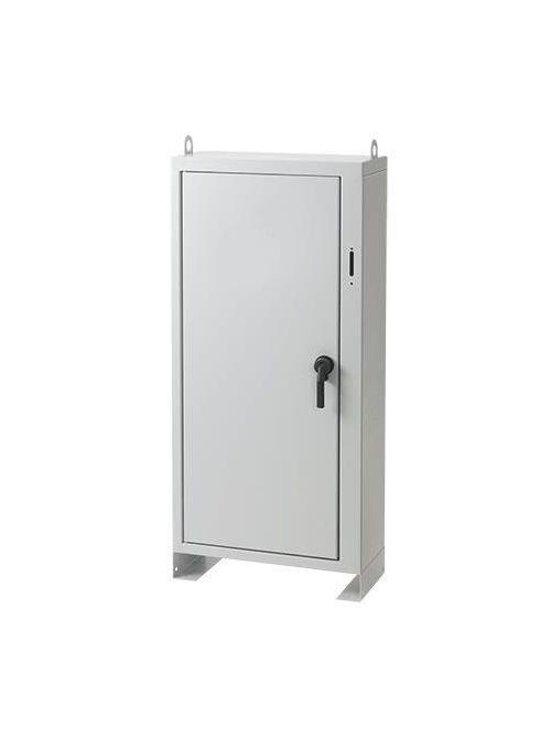 Hoffman A84XN7324FSLP 84 x 73 x 24 Inch 14 Gauge Steel NEMA 1 2-Door Free Stand Disconnect Enclosure