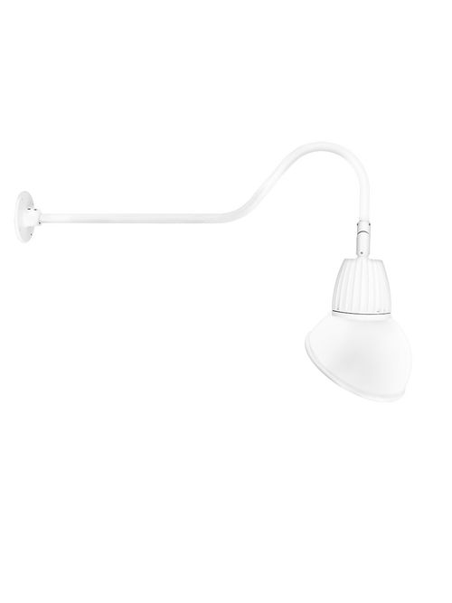 """RAB GN2LED13NAD11W GOOSE 35"""" ARM 26"""