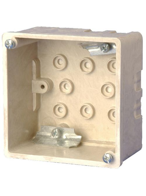 Allied Moulded Products 9342-C2 2-1/2 x 4 Inch 27.3 In Fiberglass Square Wall Junction Box