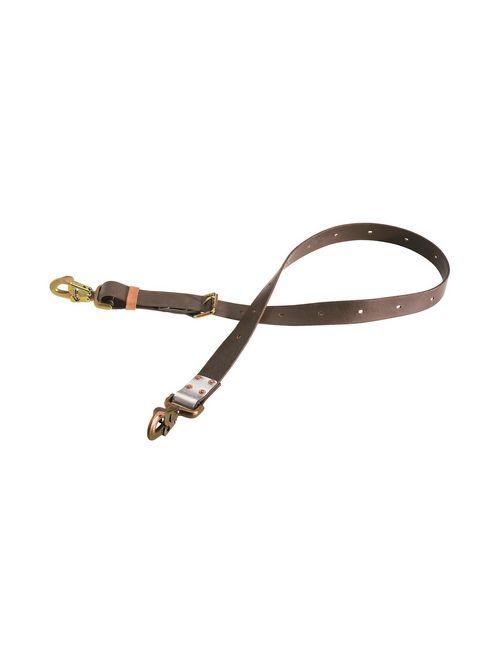 Klein Tools KL5295-6L 6 Foot Steel Locking Snap Hook Adjustable Positioning Strap