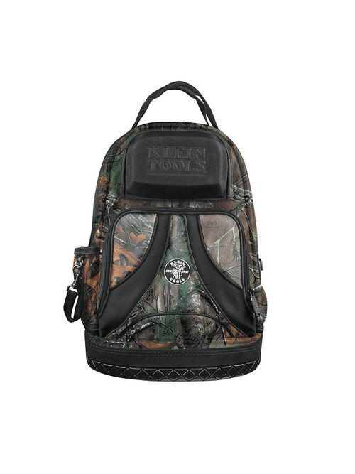 Klein 55421BP14CAMO 14.5 x 7.25 x 20 Inch 39-Pocket Electrician Backpack Tool Bag