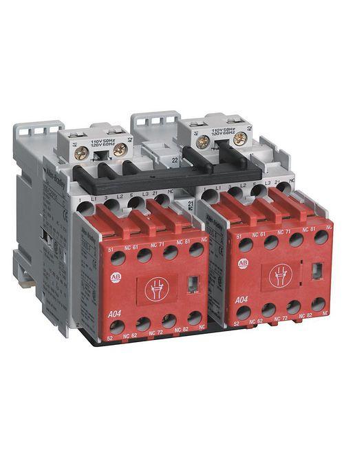 Allen-Bradley 104S-C09D210C 9 Amp IEC Safety Contactor