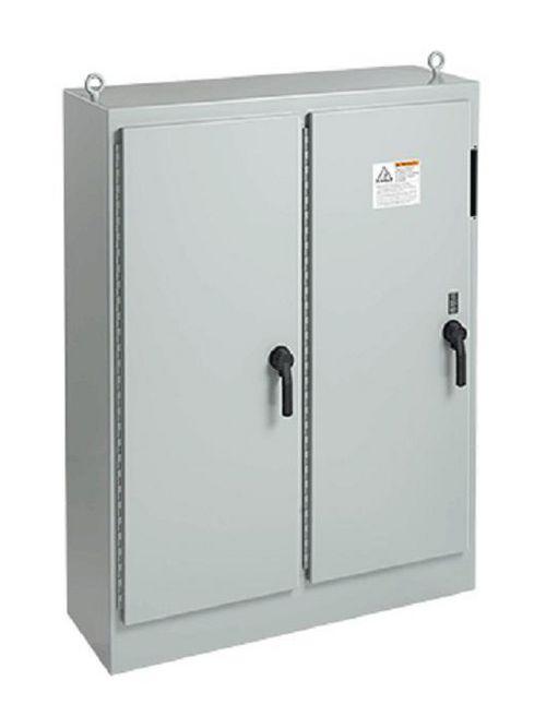 Hoffman A84XM7818FTCLP4 84.12 x 78.5 x 18.12 Inch Steel NEMA 4 2-Door Universal Cutout Disconnect Enclosure