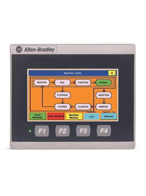 Allen-Bradley 2711R-T4T Panelview 800 4.3 Inch HMI Terminal