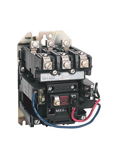 Allen-Bradley 500LP-COD93 NEMA Size 2 Magnetically Held Lighting Contactor
