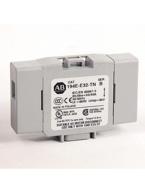 Allen-Bradley 194E-E32-TN 25 - 32 Amp Neutral Terminal