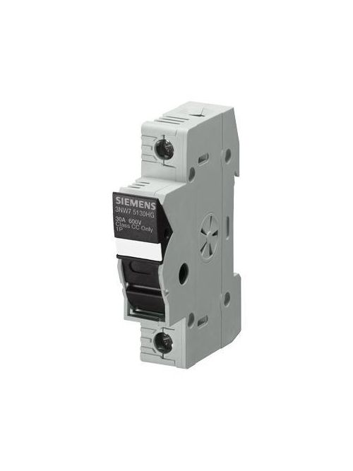 Siemens Industry 3NW7533-0HG 600 Volt 30 Amp 3-Pole Cylindrical Fuse Holder