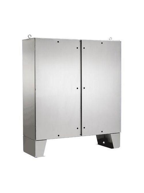 Hoffman A72H7218SSLPQT 72.06 x 72.06 x 18.06 Inch 12 Gauge 304 Stainless Steel NEMA 4X 2-Door Enclosure