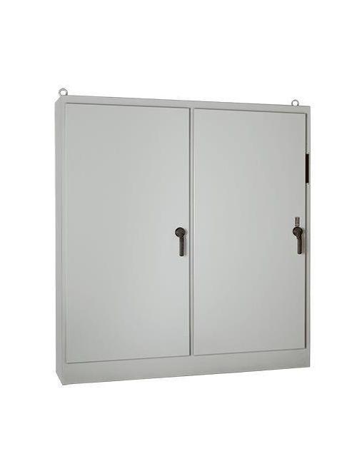 Hoffman A90XM7820FTC 90.12 x 77.75 x 18.12 Inch White Steel NEMA 12 2-Door Free Stand Disconnect Enclosure
