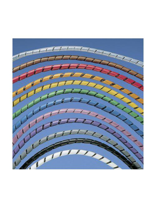 Panduit T25F-C0 .25 Inch 6.3 mm x 100 Foot Weather Resistant Polyethylene Spiral Wrap