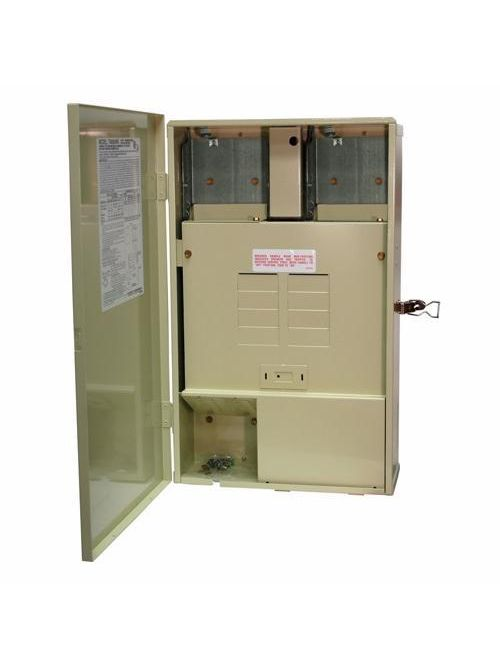 Intermatic T40000R4 NEMA 3R Load Center 120/240 VAC 60 Hz 125 Amp DPST Control System