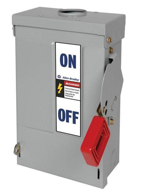 Allen-Bradley 1494H-EN3N Heavy Duty Non-Fusible Safety Disconnect Switch