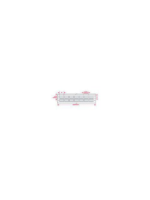 BRADY DAT-47-969-10 Label,Dot Mtx,B