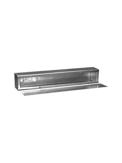 Hoffman A8896T1T 8 x 8 x 96 Inch 14 Gauge Galvanized Steel NEMA 1 Wiring Trough